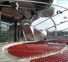 Jay Pritzker Pavilion by amak