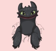 Curious Toothless Kids Tee