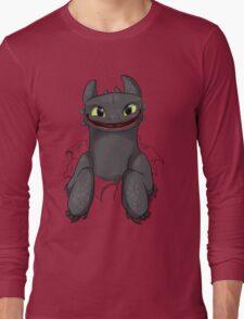 Curious Toothless Long Sleeve T-Shirt