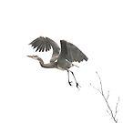 Heron by Kasia Nowak