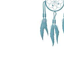 Blue Dreamcatcher by anabellstar