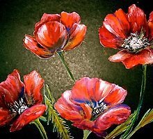 Flowers...Poppies by ©Janis Zroback