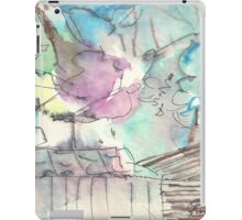 Hills behind fence(C1997) iPad Case/Skin