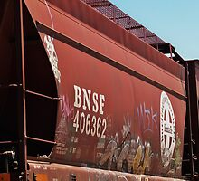 Freight Car by Stephen Burke