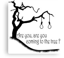 Hunger Games, Hanging Tree Canvas Print