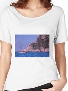 Sailing Along to Capri Women's Relaxed Fit T-Shirt