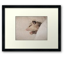 Now I lay me down to sleep - Framed Print