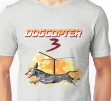 DogCopter 3 Unisex T-Shirt
