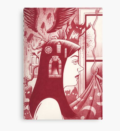 Graphic novel cover! Canvas Print