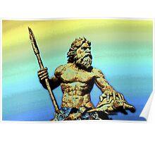 Sea God~King Neptune Poster
