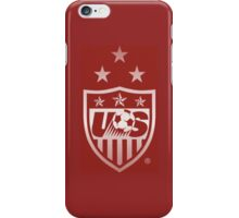 Red USWNT logo phone case iPhone Case/Skin