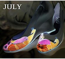 July shoes Photographic Print