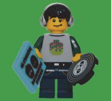 LEGO DJ One Piece - Short Sleeve