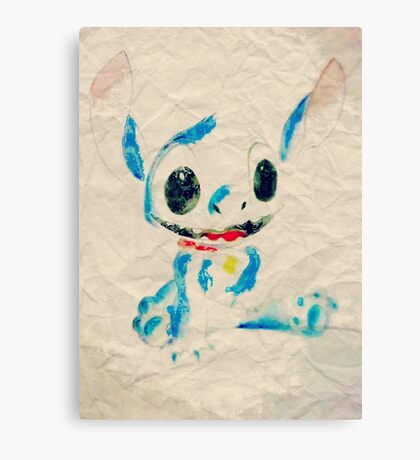 Stitch paper  Canvas Print