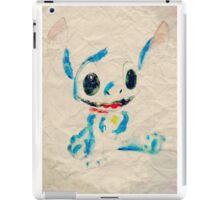 Stitch paper  iPad Case/Skin
