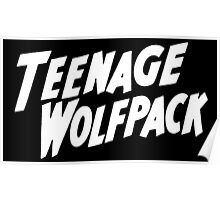 teenage wolfpack Poster