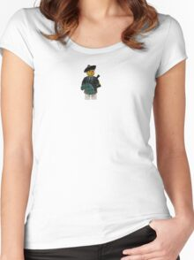 LEGO Bagpiper Women's Fitted Scoop T-Shirt