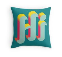 Summer Sunset Hi Throw Pillow