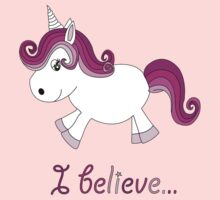 I believe in unicorns. by Becpuss