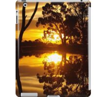 Mirrored Sunset iPad Case/Skin