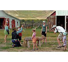 The Cowboys Photographic Print