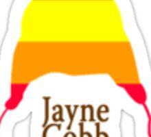 jayne cobb hat Sticker