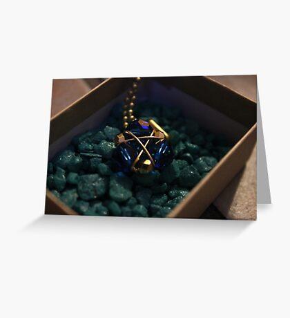 Zora's Sapphire Greeting Card