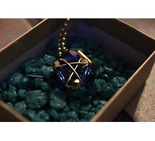 Zora's Sapphire Photographic Print