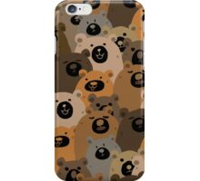BEARS!!! iPhone Case/Skin