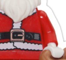 LEGO Santa Sticker