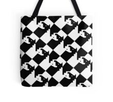Chess - Interlocking Horses Design Tote Bag