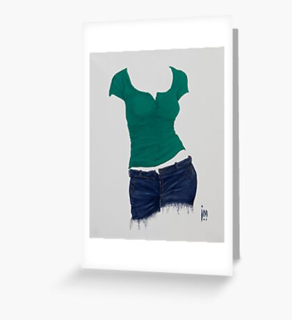 Sexy Clothing lll Greeting Card