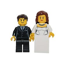 LEGO Bride and Groom by jenni460