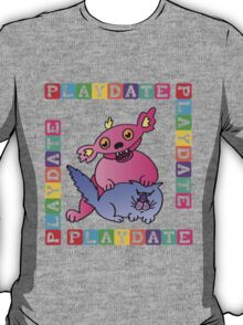 scary puppy playdate T-Shirt