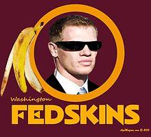 Washington Fedskins by ayemagine