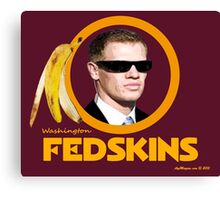 Washington Fedskins Canvas Print