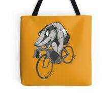 Bikin' Badger Tote Bag