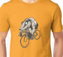 Bikin' Badger Unisex T-Shirt