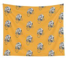 Bikin' Badger Wall Tapestry