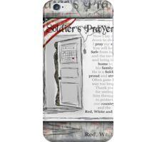 Soldier's Prayer ~ Ginkelmier iPhone Case/Skin