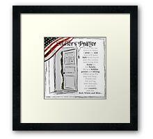 Soldier's Prayer ~ Ginkelmier Framed Print