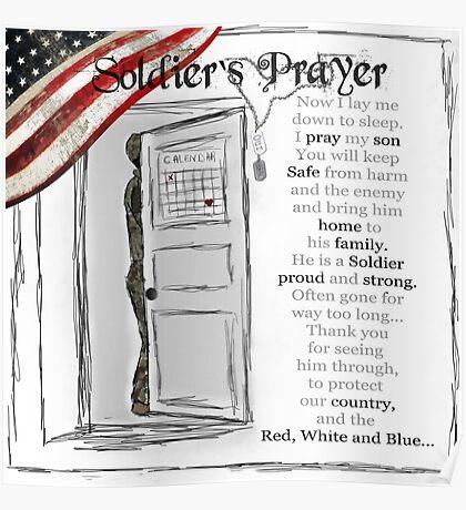 Soldier's Prayer ~ Ginkelmier Poster