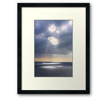 Cumulus Countenance Framed Print