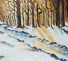 The Woods in Winter by allwyn