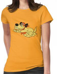 Run Muttley, Run Womens Fitted T-Shirt