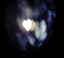 Bokeh Hearts by Claire Elford