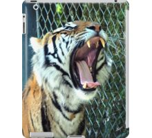 The Tiger Yawns Tonight iPad Case/Skin