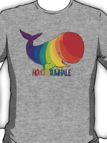 Homosexuwhale - with text T-Shirt