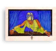 Flapper Days Canvas Print