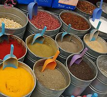 Spices - Old Souk, Fez, Morocco by Alison Howson